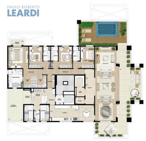 apartamento campo belo  - são paulo - ref: 440473