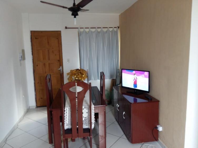 apartamento cdhu na praia beirando pista  5709rafa