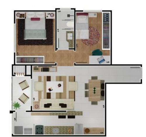 apartamento centro - ed. ilha de saint thomas