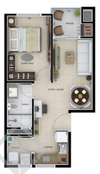 apartamento - centro - ref: 139460 - v-139460