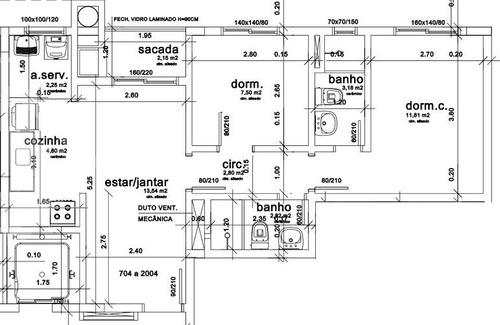 apartamento - centro - ref: 194994 - v-194994