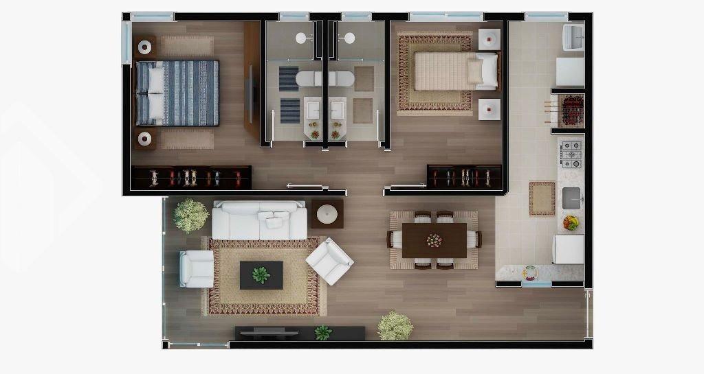 apartamento - centro - ref: 195336 - v-195336