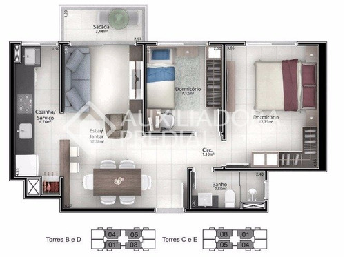 apartamento - centro - ref: 241892 - v-241892
