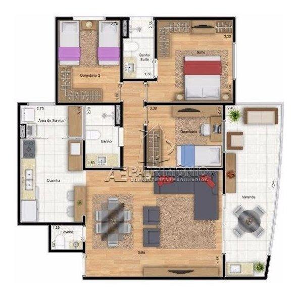apartamento - centro - ref: 53431 - v-53431