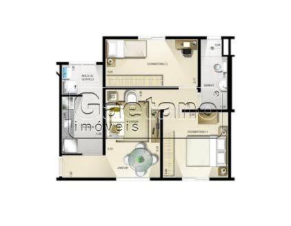 apartamento - chacara do vovo - ref: 15368 - v-15368