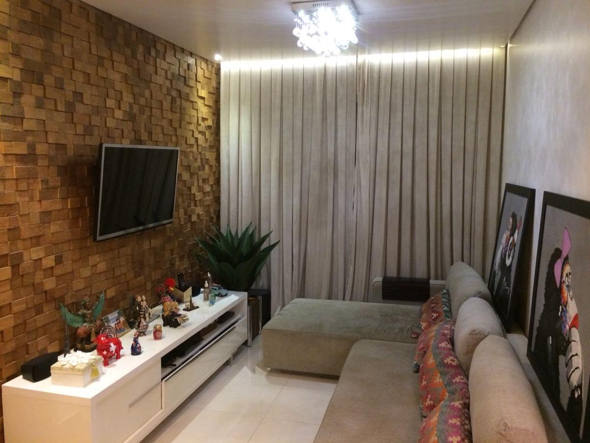 apartamento cittá della mooca, 92m, 3 dorm, 2 vagas,decorado