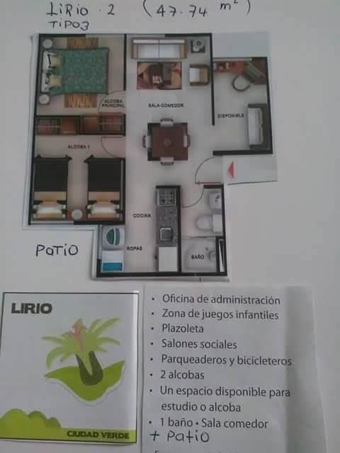 apartamento ciudad verde