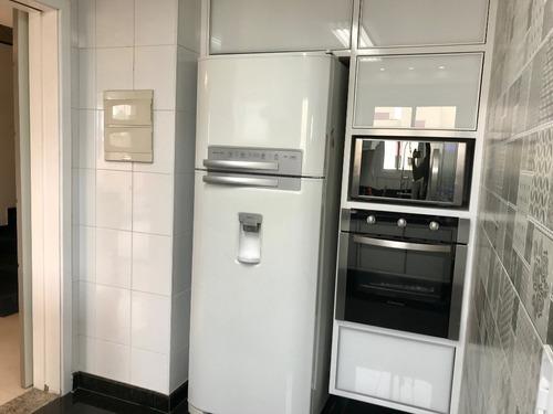 apartamento cobertura anália franco - 148m² - 3 vagas