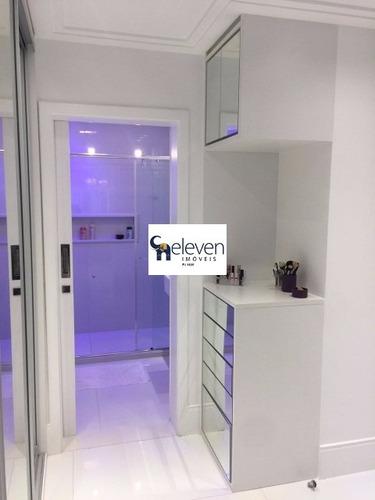 apartamento cobertura nascente para venda costa azul, salvador 3 dormitórios sendo 3 suítes, 1 sala, lavabo, armários, 1 banheiro, área de serviço, área externa e piscina, 3 vagas, - tjn681 - 4687571