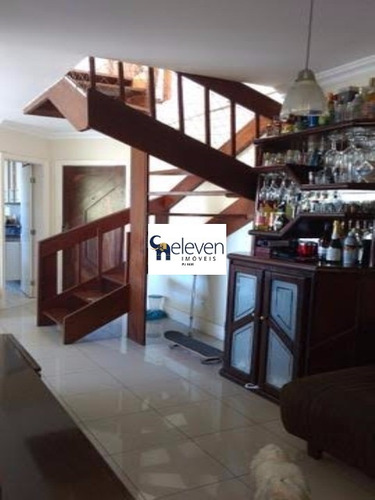 apartamento cobertura para venda imbuí, salvador 4 dormitórios sendo 1 suíte, 1 sala, armários embutidos, varanda, área de serviço,1 banheiro, 2 vagas cobertas e soltas, 148 m². - tjn592 - 4680772