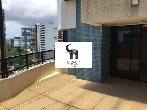 apartamento. cobertura para venda pituba, salvador r$ 1.000.000 (condomínio: r$ 950 + iptu r$ 200)  com: 4 dormitórios sendo 4 suítes, 1 sala, 3 vagas e 206 m² útil. - tbm3000 - 4411132