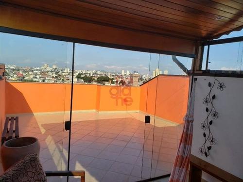 apartamento cobertura à venda no jardim santo antônio - 3252