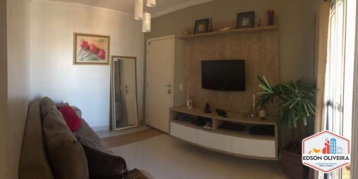 apartamento com 02 dormit. 62m2 residence moutonnée salto sp