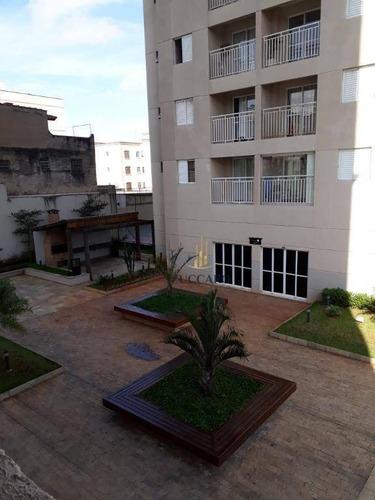 apartamento com 02 dormitórios sendo (01ste) e 01 vaga para alugar, 55 m² por r$1.623,00 total/mês - jardim rosa de franca - guarulhos/sp - ap14313