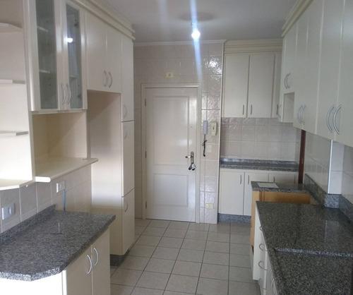 apartamento com 03 dormitórios, 03 banheiros com sacada