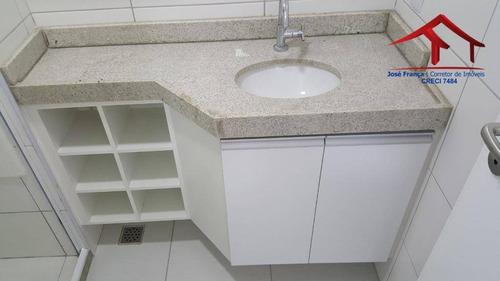 apartamento com 03 quartos, 02 vagas no bairro joaquim tavora - ap0331
