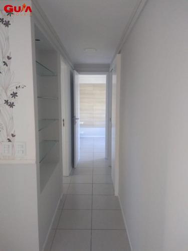 apartamento com 03 quartos no melhor do meireles - 1581