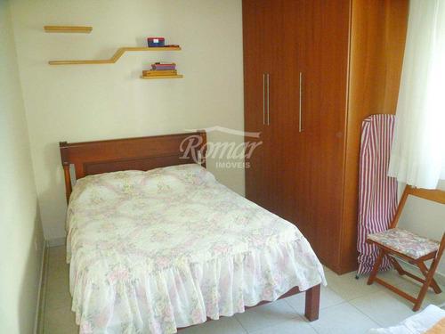 apartamento com 1 dorm, aparecida, santos, cod: 464 - a464