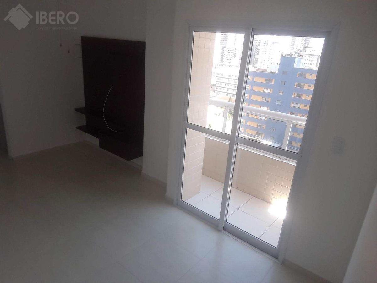 apartamento com 1 dorm, boqueirão, praia grande, cod: 1144 - a1144