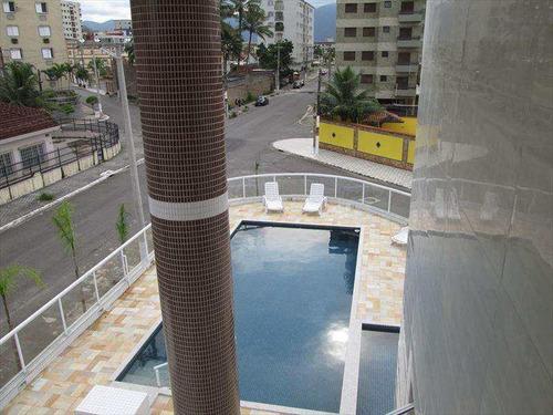 apartamento com 1 dorm, caiçara, praia grande - r$ 205.000,00, 42m² - codigo: 353801 - v353801