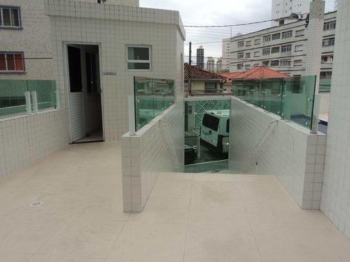 apartamento com 1 dorm, caiçara, praia grande - r$ 208.890,00, 37,93m² - codigo: 412609 - v412609