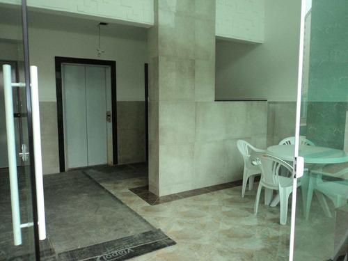 apartamento com 1 dorm, caiçara, praia grande - r$ 249.583,00, 52,07m² - codigo: 412583 - v412583