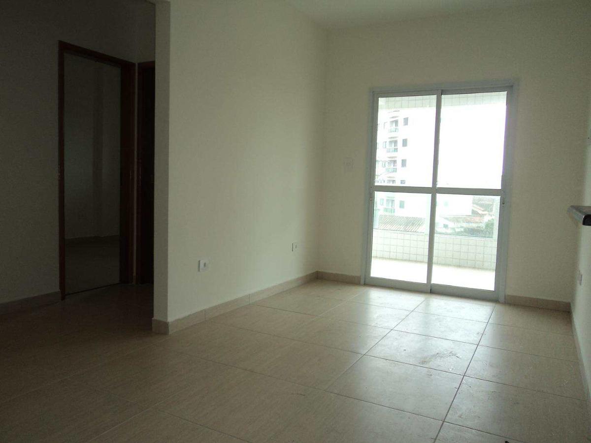 apartamento com 1 dorm, caiçara, praia grande - r$ 282.064,00, 58,03m² - codigo: 412540 - v412540