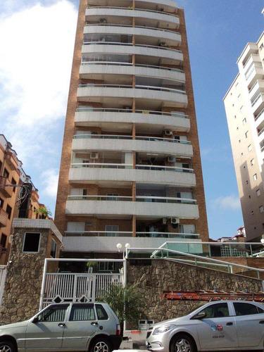 apartamento com 1 dorm, canto do forte, praia grande - r$ 230.000,00, 49m² - codigo: 412418 - v412418