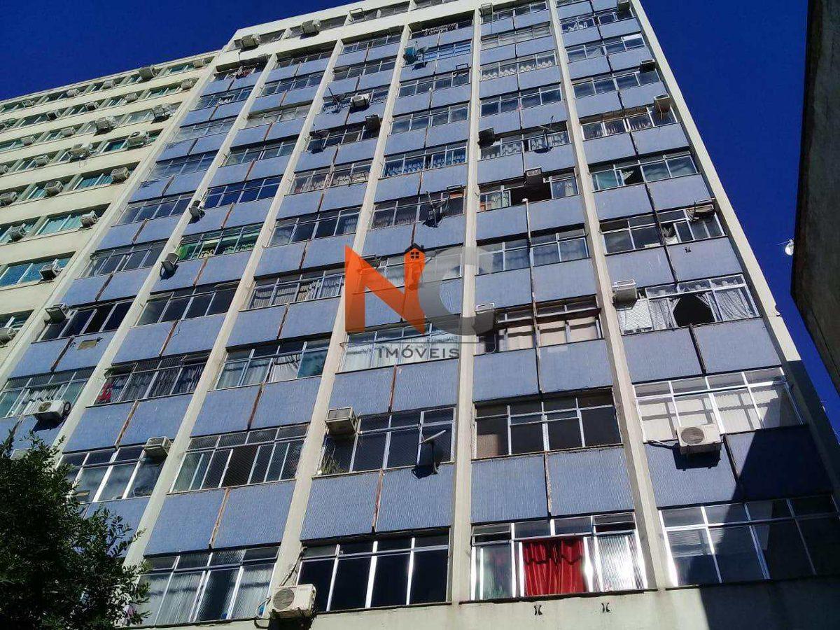 apartamento com 1 dorm, centro, rio de janeiro - r$ 180 mil, cod: 605 - v605