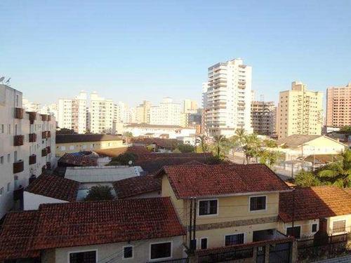 apartamento com 1 dorm, guilhermina, praia grande - r$ 170.000,00, 30m² - codigo: 412431 - v412431