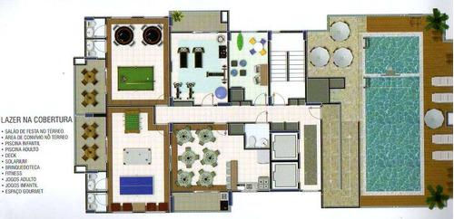 apartamento com 1 dorm, mirim, praia grande - r$ 257.000,00, 48,38m² - codigo: 412641 - v412641