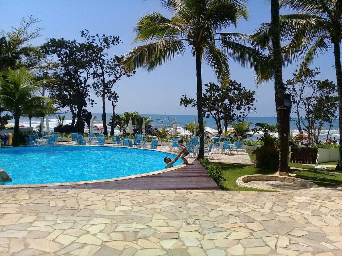 apartamento com 1 dorm, praia das toninhas, ubatuba - r$ 480 mil, cod: 1234 - v1234