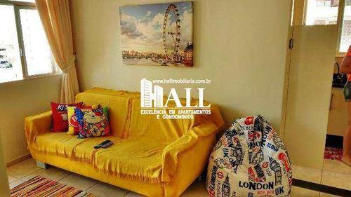 apartamento com 1 dorm, vila imperial, são josé do rio preto - r$ 238.000,00, 60m² - codigo: 3538 - v3538