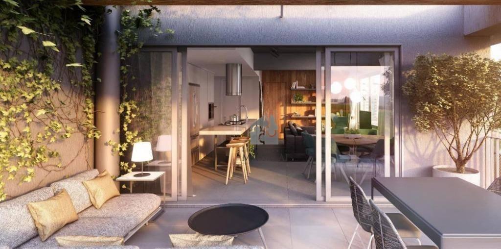apartamento com 1 dormitório com garagem à venda - menino deus - porto alegre/rs - ap1945