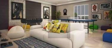 apartamento com 1 dormitório com varanda gourmet, 01 vaga de garagem, bairro  canto do forte - praia grande/sp - ap1467