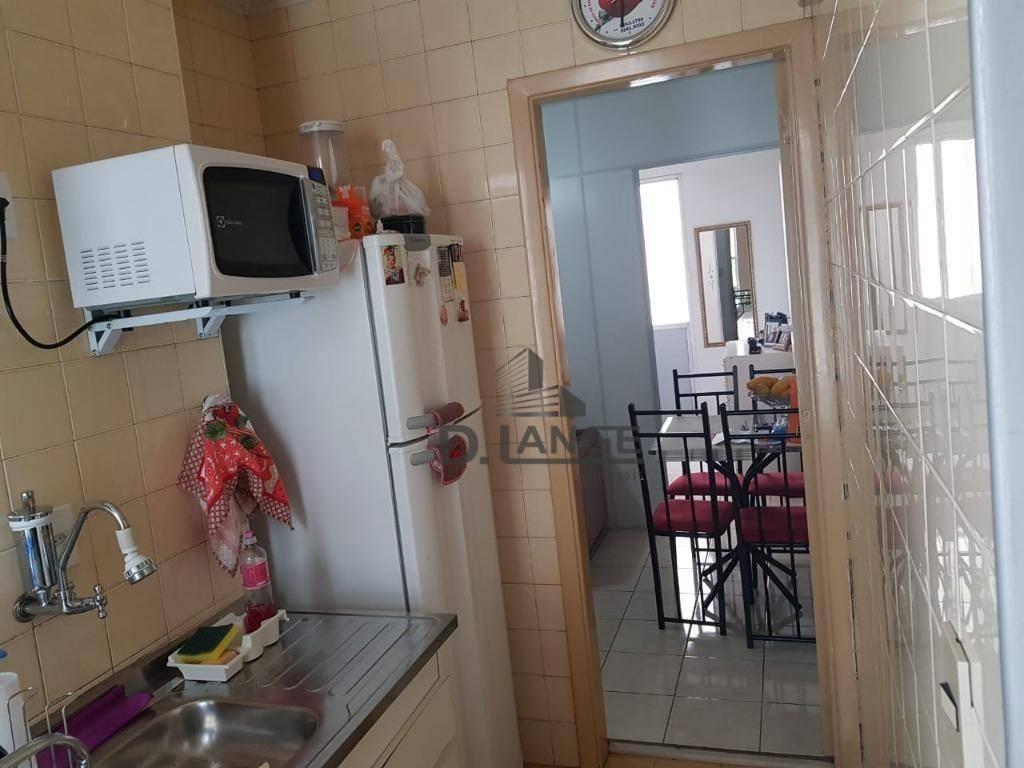 apartamento com 1 dormitório + garagem à venda, 45 m² por r$ 143.000 - centro /botafogo - campinas/sp - ap17354