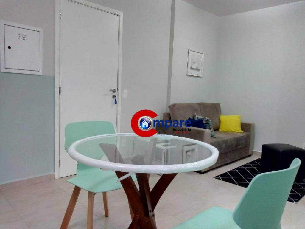 apartamento com 1 dormitório para alugar, 30 m² por r$ 1.750/mês - gopoúva - guarulhos/sp - ap8185