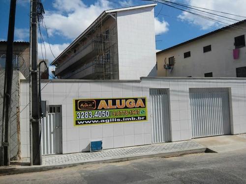 apartamento com 1 dormitório para alugar, 32 m² por r$ 500/mês - montese - fortaleza/ce - ap0359