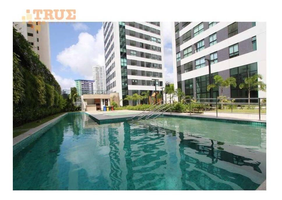 apartamento com 1 dormitório para alugar, 33 m² - parnamirim - recife/pe - ap3619