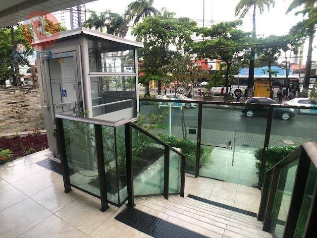apartamento com 1 dormitório para alugar, 35 m² por r$ 1.000,00/mês - madalena - recife/pe - ap1773