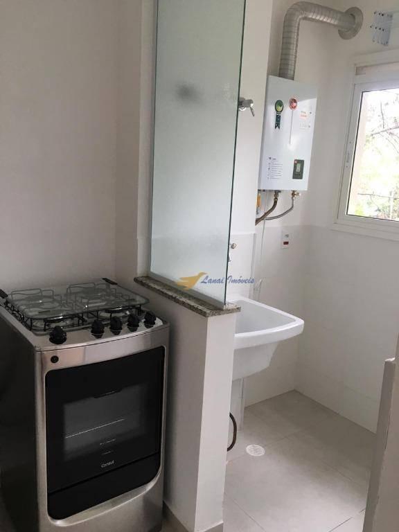 apartamento com 1 dormitório para alugar, 36 m² por r$ 1.850/mês - granja viana - cotia/sp - ap2951