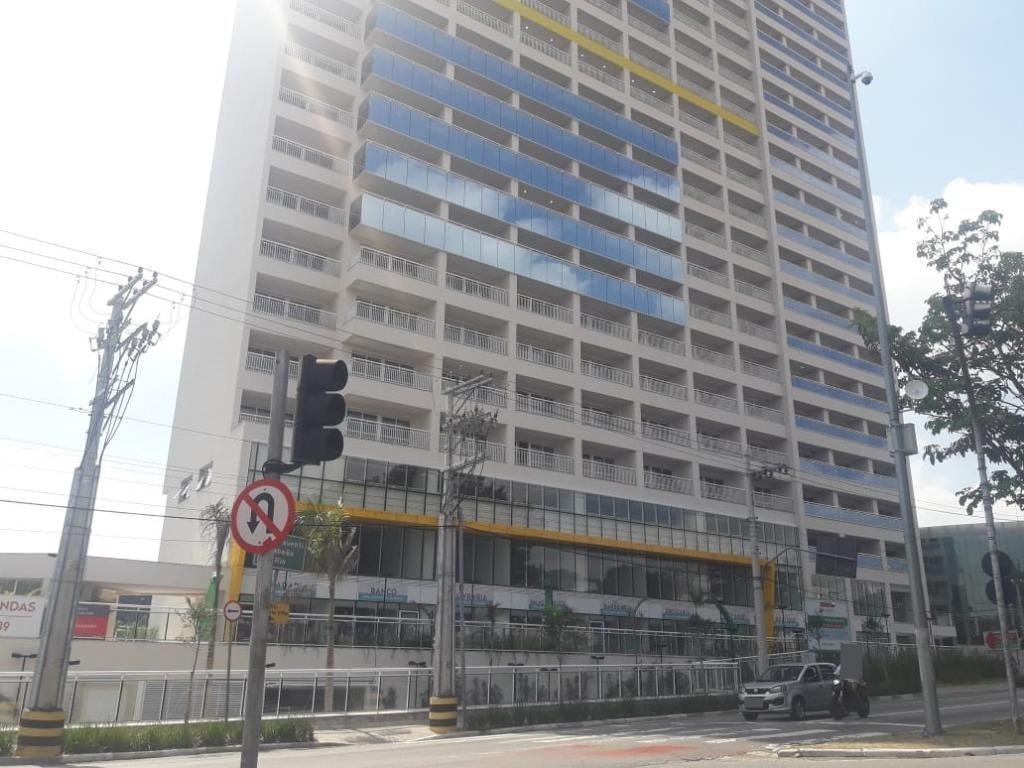 apartamento com 1 dormitório para alugar, 37 m² - centro - guarulhos/sp - ap6754