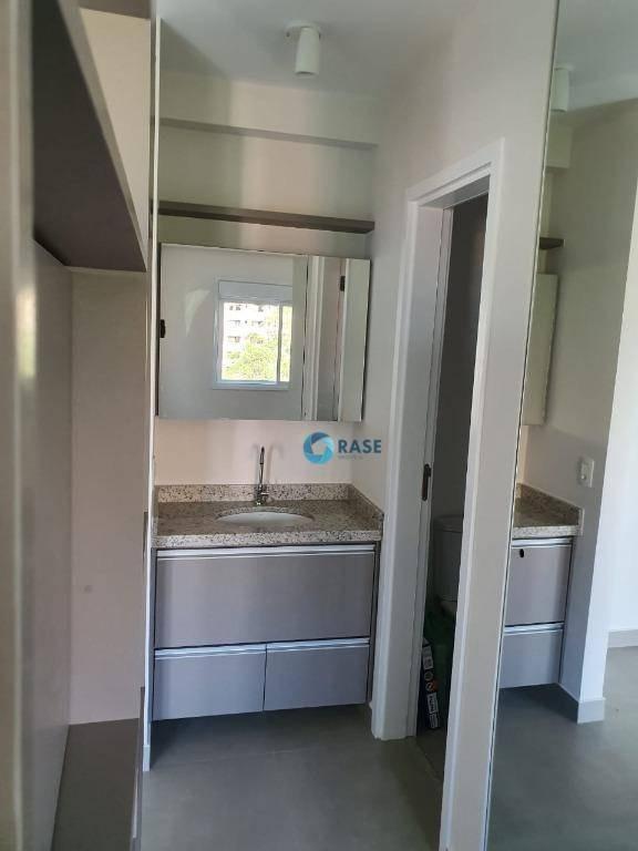 apartamento com 1 dormitório para alugar, 38 m² por r$ 2.400,00 - morumbi - são paulo/sp - ap7386