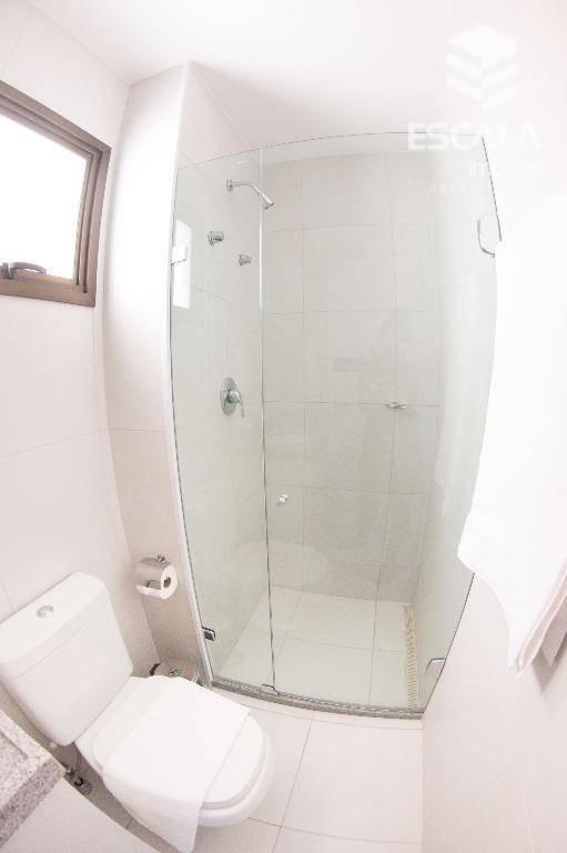 apartamento com 1 dormitório para alugar, 39 m² por r$ 3.500,00/dia - cumbuco - caucaia/ce - ap1117