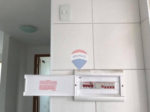 apartamento com 1 dormitório para alugar, 40 m² por r$ 1.800/mês - boa vista - recife/pe - ap0802