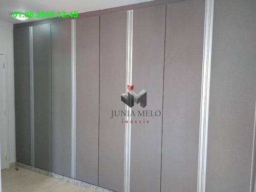 apartamento com 1 dormitório para alugar, 45 m² por r$ 1.200,00/mês - nova aliança - ribeirão preto/sp - ap1766