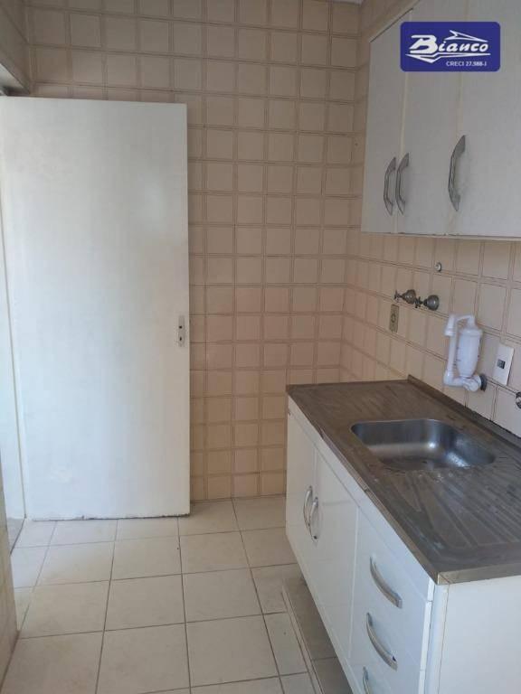 apartamento com 1 dormitório para alugar, 48 m² por r$ 750,00/mês - centro - guarulhos/sp - ap4031