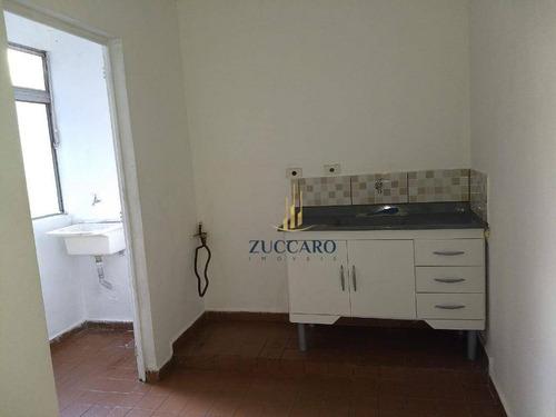 apartamento com 1 dormitório para alugar, 50 m² por r$ 800,00/mês - macedo - guarulhos/sp - ap13901