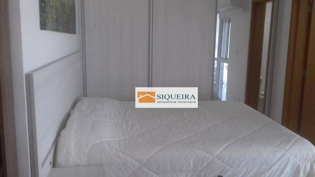apartamento com 1 dormitório para alugar, 52 m² por r$ 3.000/mês - parque campolim - sorocaba/sp - ap1145