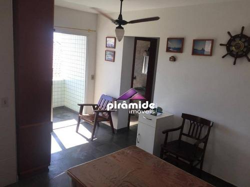 apartamento com 1 dormitório para alugar, 53 m² por r$ 1.300/mês - indaiá - caraguatatuba/sp - ap10922